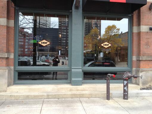 Restaurant window graphics Cleveland