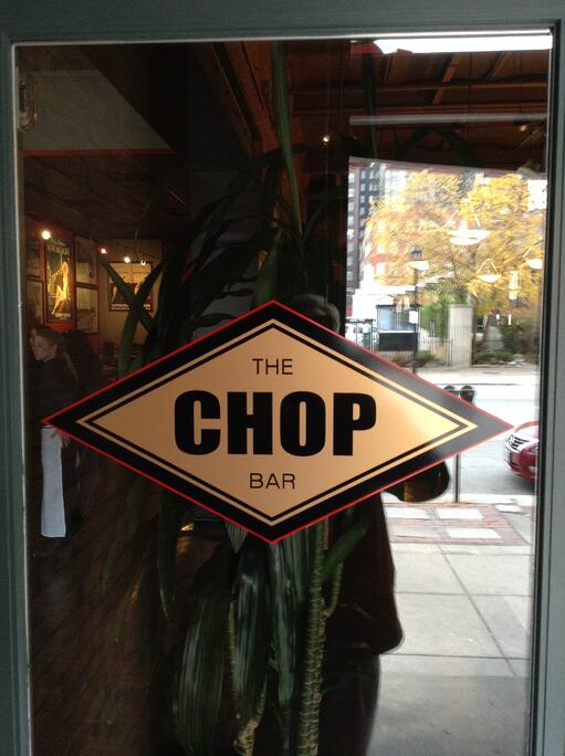 Restaurant vinyl window graphics Cleveland