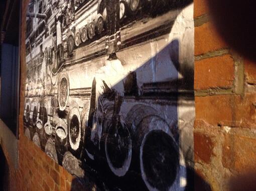 Restaurant wall murals Cleveland