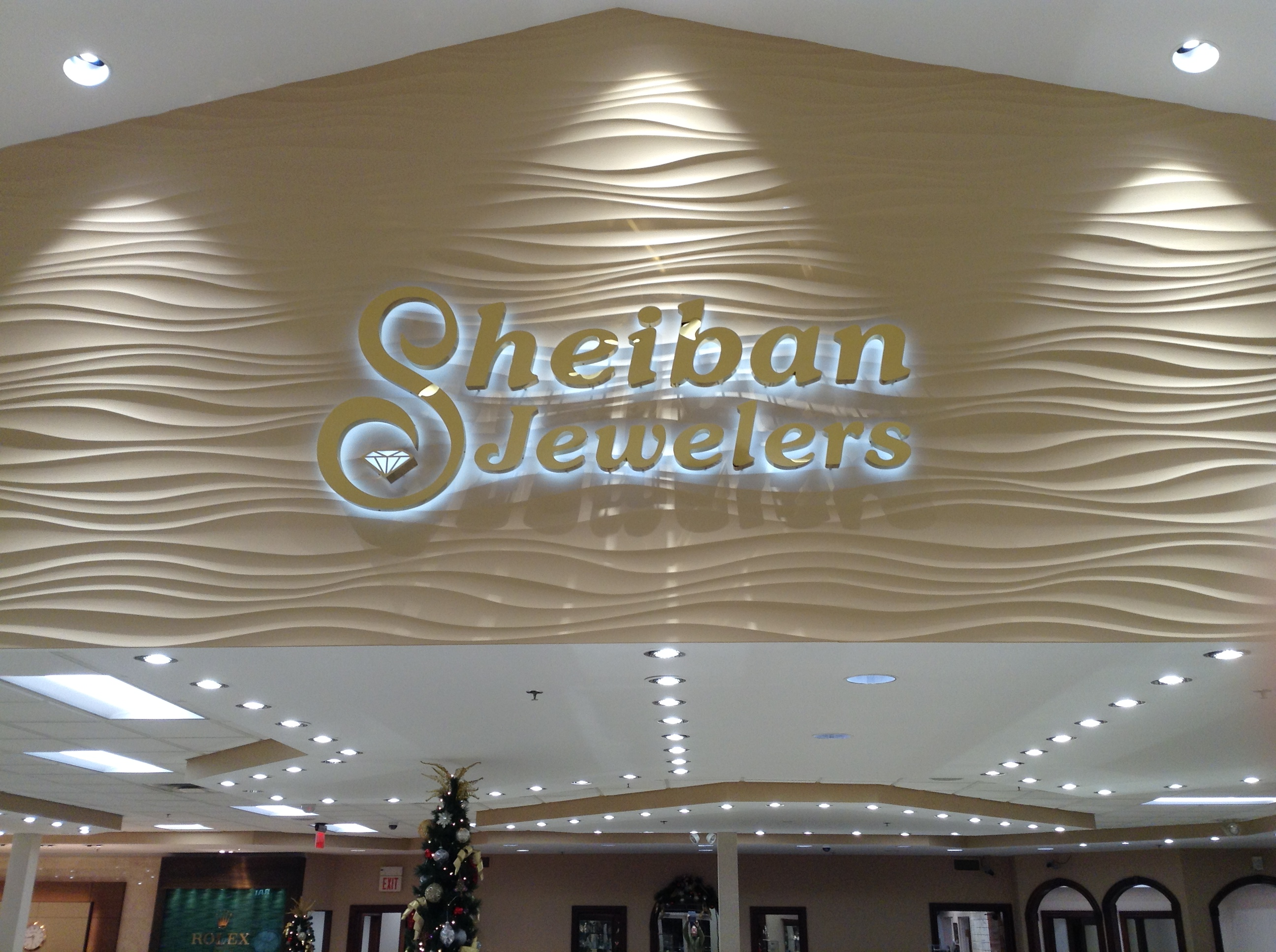 Lobby sign by Epic Signs & Graphics