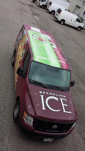 Van wraps Cleveland