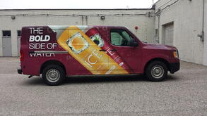 Van wrap in Parma Ohio