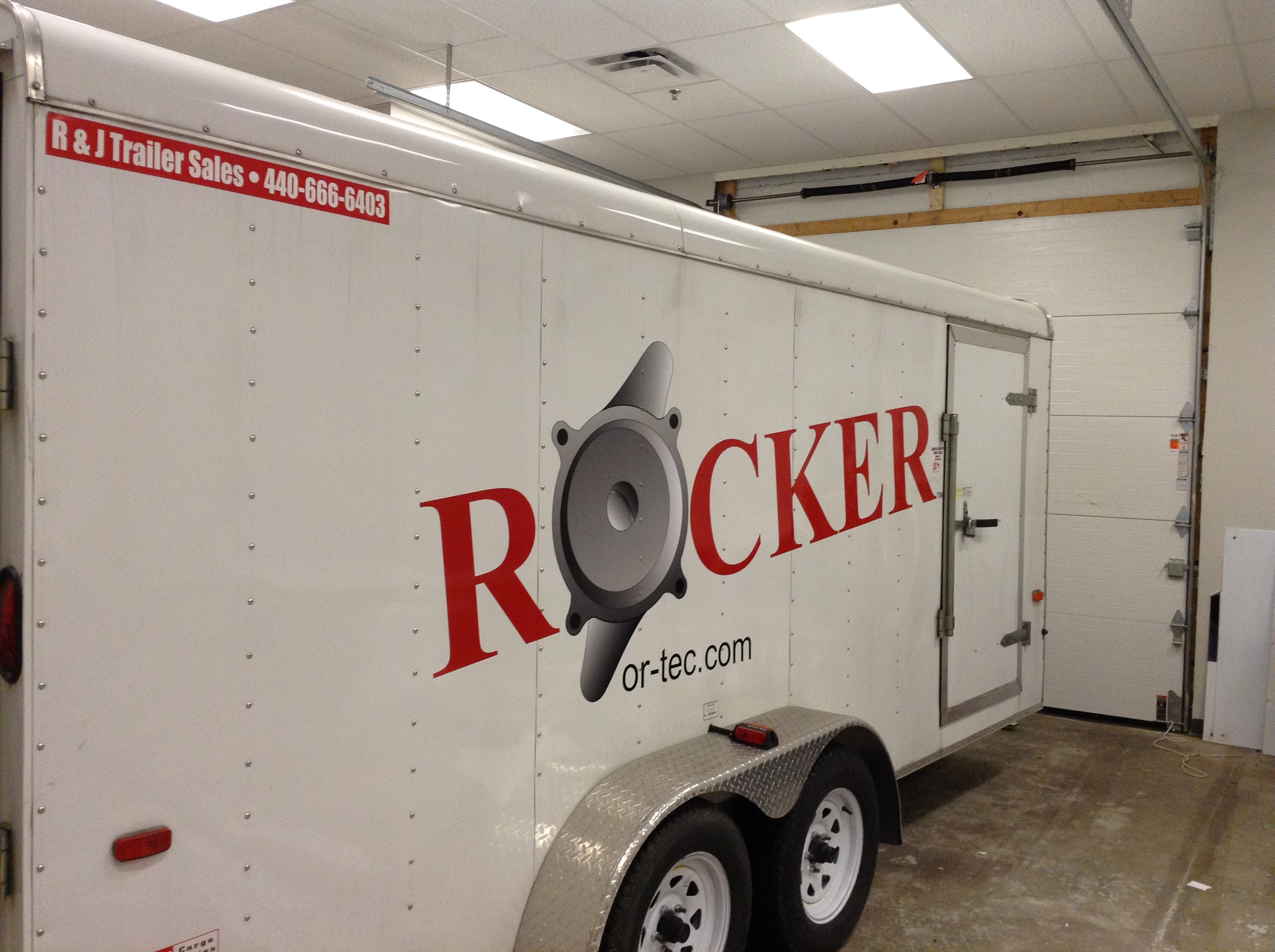 Trailer wrap Parma Oh