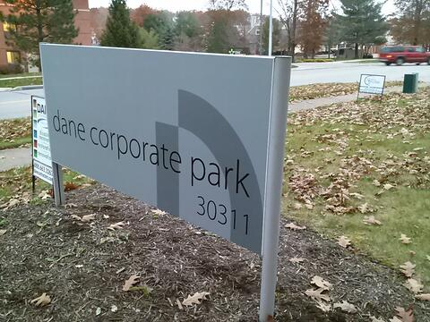 Exterior Panel Sign Westlake Ohio