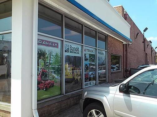 Advertise brands with window graphics in Parma OH