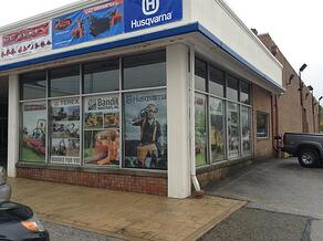 Retail Window Graphics and Exterior Banners Parma OH