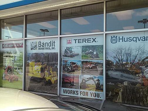 Window graphics Parma OH