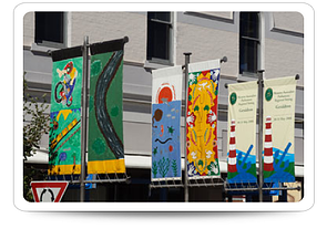 Holiday Banners for Cleveland Retailers