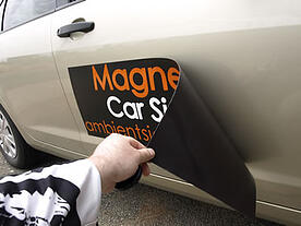 Advertise with car magnets in Northeast Ohio