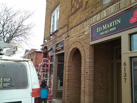 Installing Exterior Building Signs Parma OH
