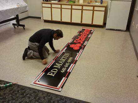How PVC Metal Signs Are Made