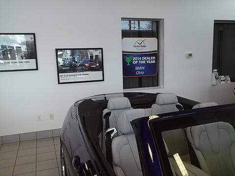 Window Graphics and Window Cling for Cleveland Auto Dealerships