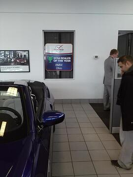 Window Vinyl for Cleveland Auto Dealerships