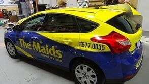 where to get vehicle wraps repaired in Cleveland