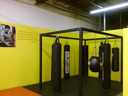 Fitness training center graphics and decals Cleveland