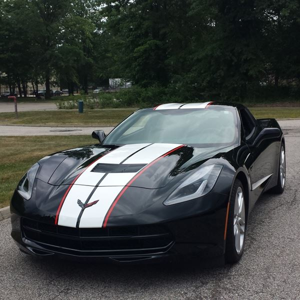 corvette angled