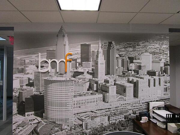 City Scape Murals Cleveland, Oh