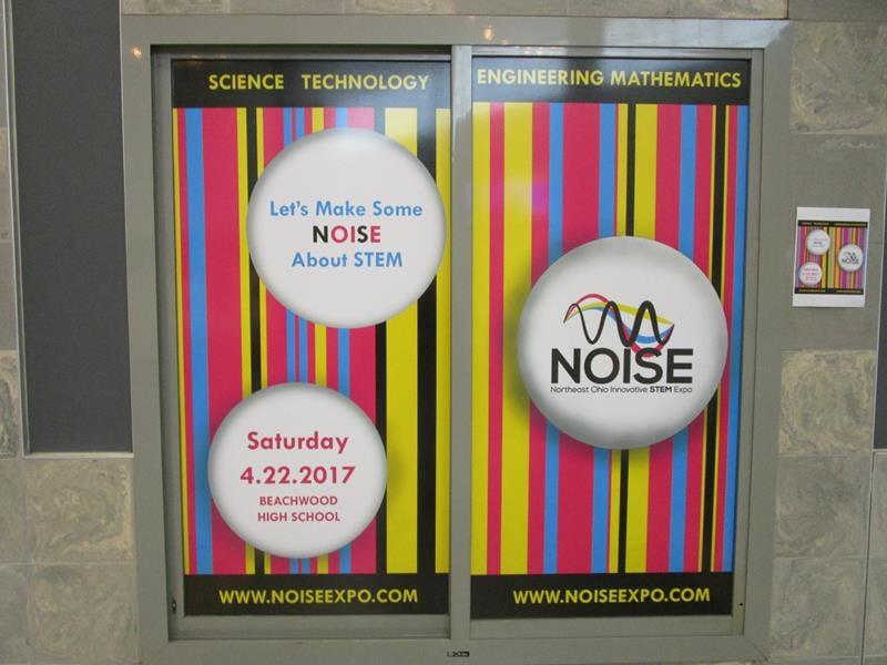school window posters