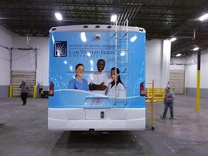 Custom Bus Wraps Cleveland OH