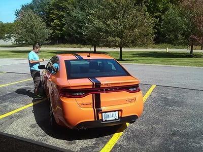Dodge Dart Racing Stripes Cleveland