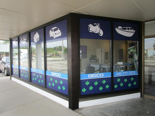 Window Graphics North Olmsted, Oh