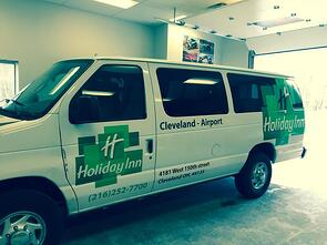 Cleveland Truck Wrap
