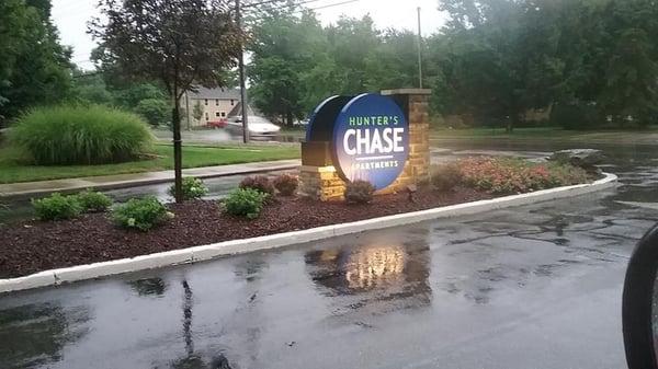 Monument Sign Westlake, Ohio