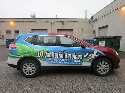 Business Car Wrap