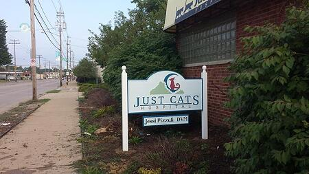Post and Panel Exterior Signs | Cleveland | Parma | Northeast OH