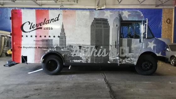 Business Truck Wrap Cleveland, Oh