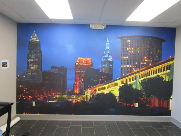 Cleveland, Oh Wall Mural