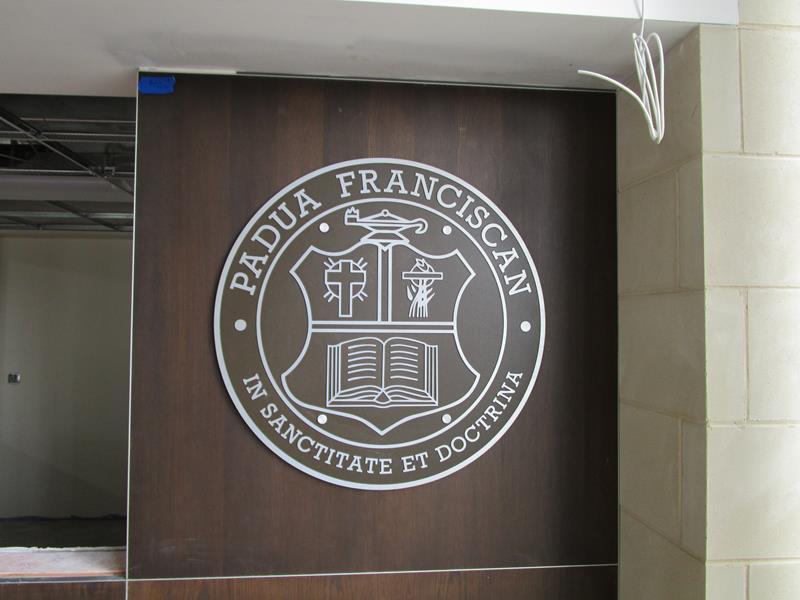 Metal plaque Parma, Oh