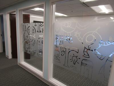 Vinyl Etched Windows Cleveland