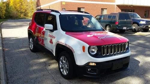 Cleveland Car Wrap