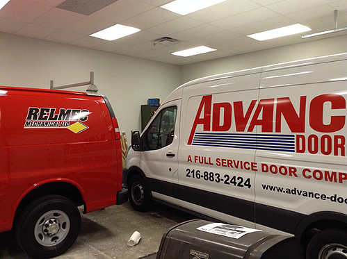 Truck lettering and logos Cleveland