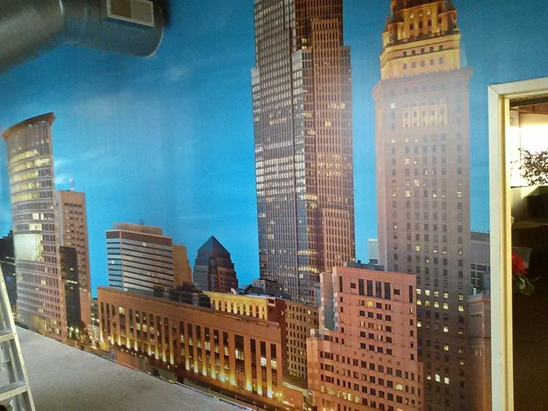 Wall Mural Cleveland Oh