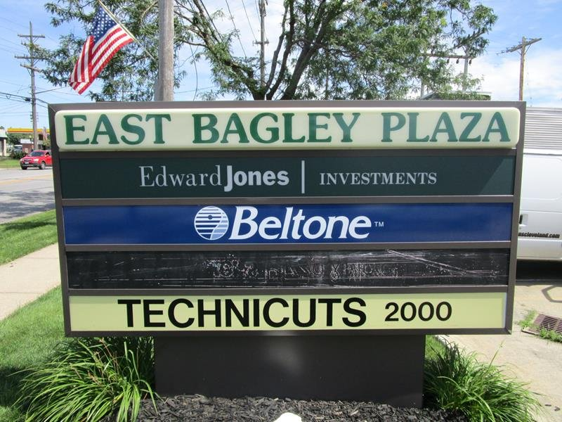 Updated Monument Sign