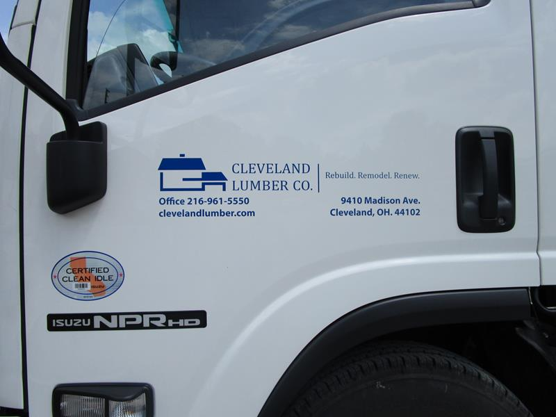 Cleveland Truck Lettering