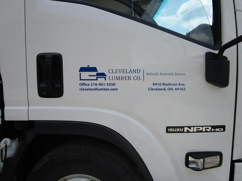 Large Truck Lettering
