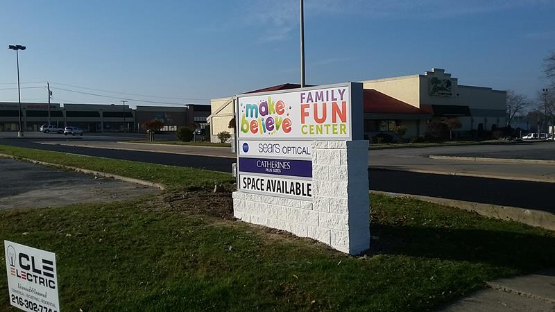 Front Business Sign